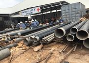 Dự án nhà máy xử lý nước thải KCN Bầu Bàng – Bình Dương.