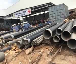 Waste water pipeline Bau Bang Industrial Park - Binh Duong