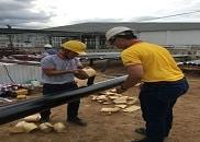 Hướng dẫn thi công bọc bảo vệ ống PCCC sử dụng vật liệu Premcote 101