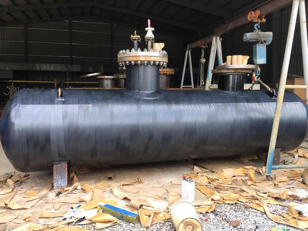 Bọc bồn khí Gas chôn ngầm cho dự án tổ hợp khách sạn Nam Hội An Đà Nẵng