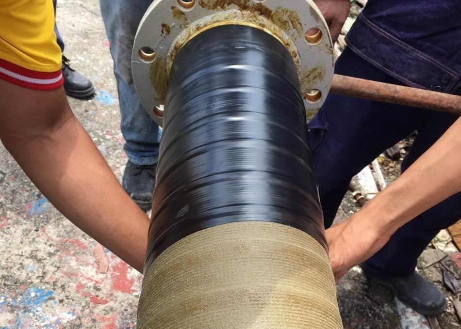 Băng quấn SA PVC 200 bảo vệ chống thấm nước lớp ngoài cùng