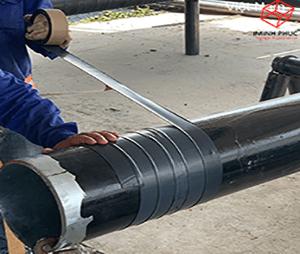 Bọc ống PCCC tại Nhà kho vận Mappletree tại Bình Dương