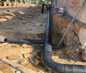 Bọc ống PCCC tại nhà xưởng cho thuê BW - KCN Bàu Bàng BD