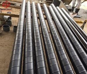 Bọc chống ăn mòn ống nước tại Dự án Khách sạn Festival - Vũng Tàu