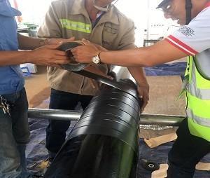 Bọc ống PCCC ngầm tại NM Cargill - KCN Phú Mỹ I - Bà Rịa Vũng Tàu