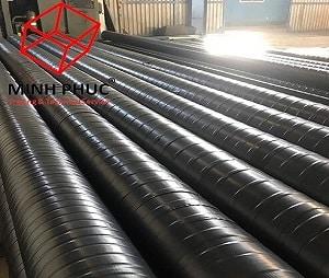 Bọc ống PCCC tại Dự án NPK - Cà Mau