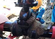 Bọc bảo vệ chống ăn mòn cho valve ngầm tại Dự án Lọc Dầu Long Sơn